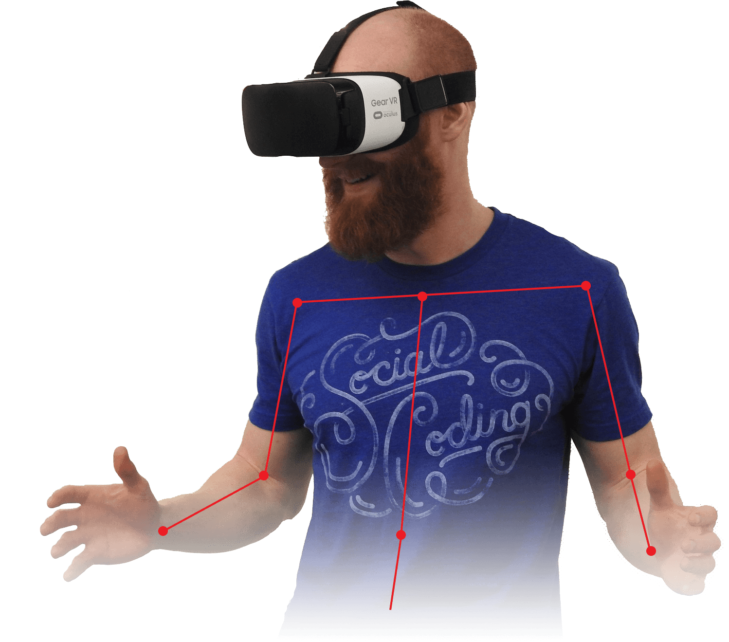 Person VR Body Tracking