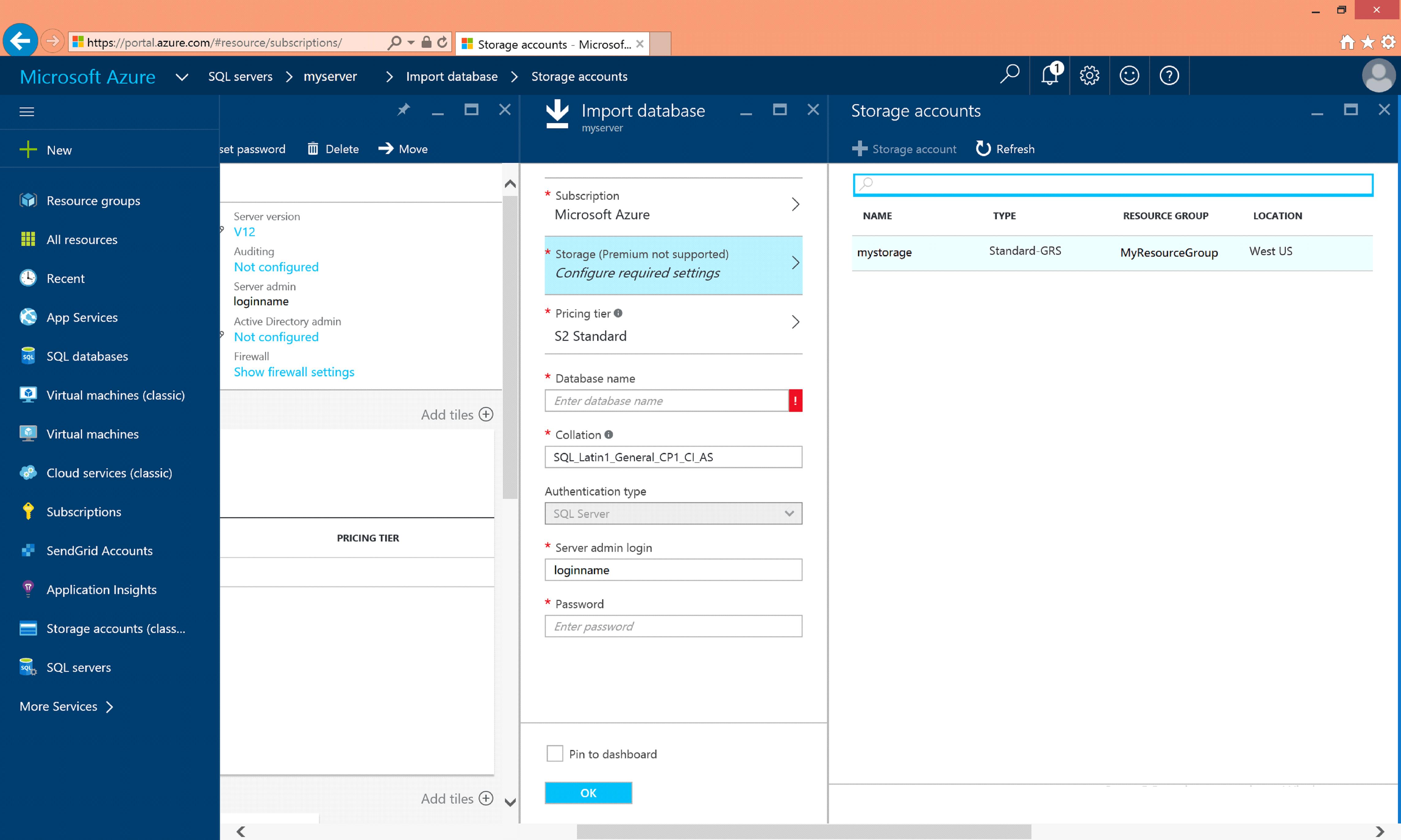 Configure Storage