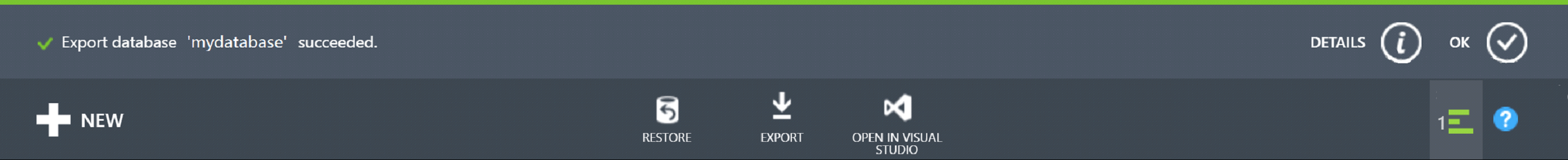 Export Notification
