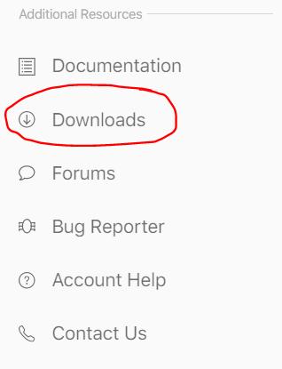 Apple Developer - Downloads