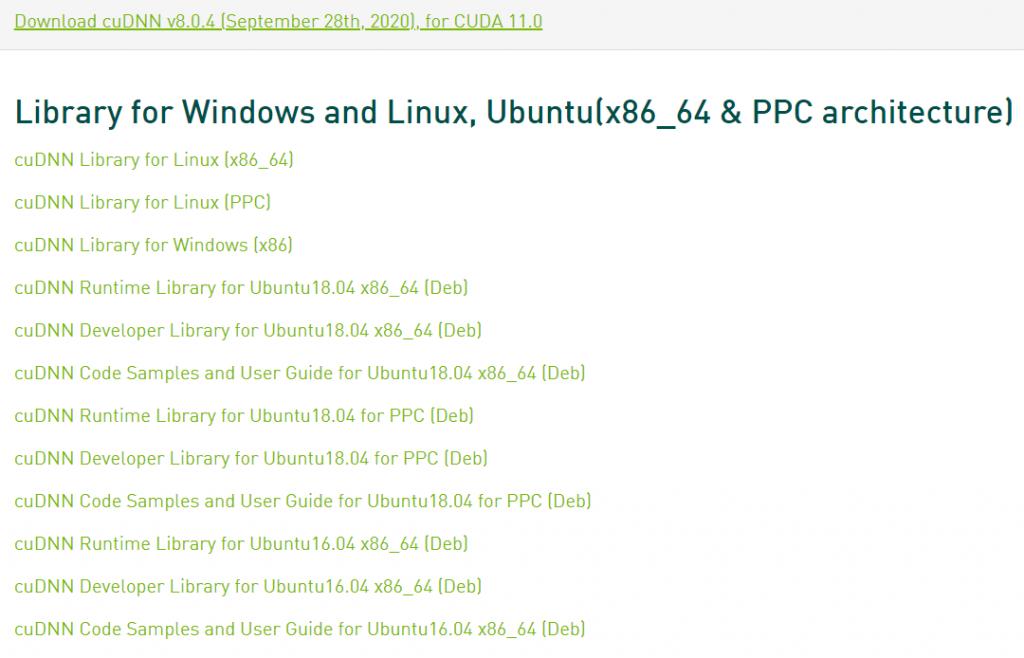 NVIDIA cuDNN for Ubuntu - Download